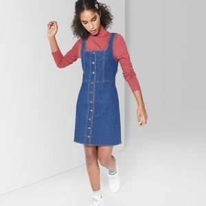 EUC WILD FABLE BUTTON DOWN DENIM DRESS